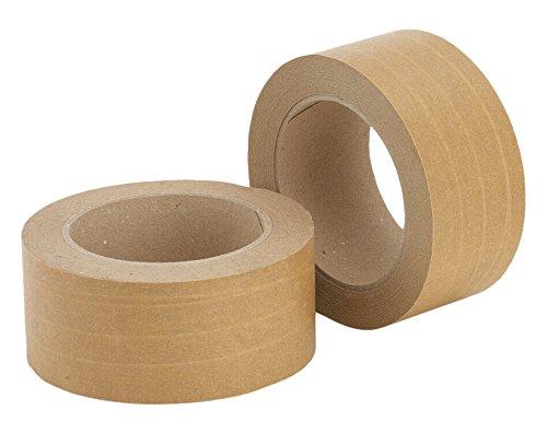 Papier-Packband, fadenverstärkt in braun, 50 mm x 50 Meter,...